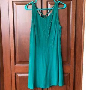 Forever 21 green dress!
